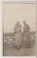Beyrouth. Au Bord De La Mer. 1933.Officier Avec Femme élégante. - Líbano
