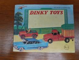 DINKY TOYS Catalog Belgium-Luxembourg _original Edition - Cataloge Catalogus-Tin Toy-Car Auto Blik - Jugetes Antiguos