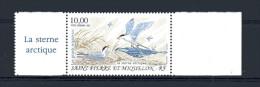SPM - PA N° 74 ** - 10 F - ( 1.52 €  -  Grand Migrateur - Le Sterne Arctique - Airmail