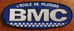 Patch Écusson Tissu à Coudre - Moto - Ecole De Pilotage BMC - Motos