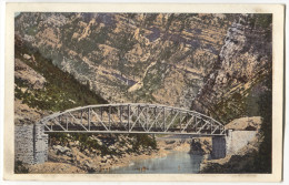 Bosnia And Herzegovina, SARAJEVO, 1910. Train, Railway, Eisenbahnstrecke, Mostar, Grabovica, K.u.K. Militarpost - Bosnie-Herzegovine