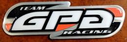 Patch Écusson Tissu à Coudre - Moto - Casques - GPA Racing Team (plastifié) - Motos