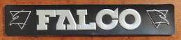 Patch Écusson Tissu à Coudre - Moto - Bottes FALCO ( Plastifié) - Motos