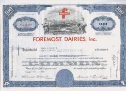 Foremost Dairies, Inc. - Landbouw