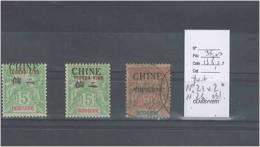 Tchong King - Yvert No 21 X 2 * Et Yvert 26 Oblitéré - - Non Classés