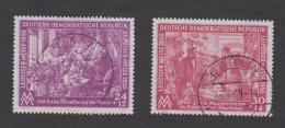 DDR, Leipziger Messe 1950, Mi 248 - 249 - Gestempelt - DDR