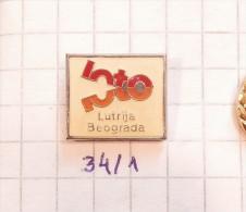 LOTTERY - LOTO GAME OF BELGRADE YUGOSLAVIA / SPORT PROGNOSIS, TICKETS Loterie Sportifs TOTO, Loteri BINGO - Casinos