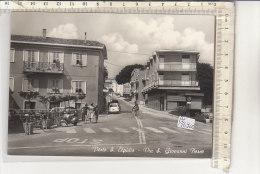 PO7690C# ASCOLI PICENO - PORTO S.ELPIDIO -VIA S.GIOVANNI BOSCO - MOTO VESPA - BICICLETTA  VG 1963 - Ascoli Piceno
