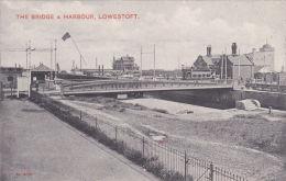 LOWESTOFT - THE BRIDGE AND HARBOUR