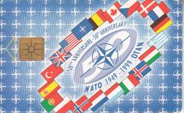 CZECH REPUBLIC - NATO 1949-1999 50th Anniversary, 02/99, Used - Armée