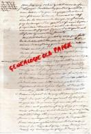 87 - SAINT PRIEST LIGOURE -NEXON - ACTE NOTARIE CHASSAIGNE LARIBIERE - NOTAIRE GRELLET -1810 - Manuscrits