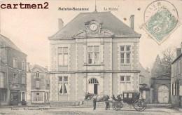 SAINTE-SUZANNE LA MAIRIE ATTELAGE FIACRE 53 - Sainte Suzanne