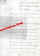 87 - SAINT PRIEST LIGOURE -NEXON - SUCCESSION LA ROCHE L' ABEILLE-NEXON- 27 THERMIDOR AN 10- DEMOUTAUD-TEXIER -REIX- - Manuscrits