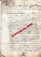 87 - SAINT PRIEST LIGOURE -JUGEMENT 1791- THEREZE BOUTOT -SIMON LAFONT- VALERIE GICLET-CHASSAIGNE LARIBIERE- DELIGNAC - Manuscrits