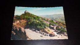 C-14672 CARTOLINA REPUBBLICA DI SAN MARINO M. 643 - LA SECONDA TORRE E PANORAMA - AUTO D'EPOCA - San Marino