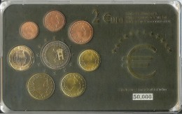 Luxembourg Série € 2004 Sauf 0,50; 0,20; 0,02, 2003 Sous Protection Plastique - Luxembourg