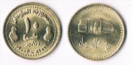 Sudan  10 Dinars 2003- UNC - Soudan