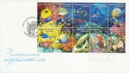 Christmas Island 2004 Underwater FDC - Christmas Island