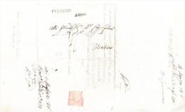 Umbria Fuligno E Assisi Prefilatelica Completa Di Testo Interno - 1. ...-1850 Prephilately