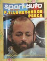 SPORT AUTO. N°144. JANVIER 1974. F.1 LE RETOUR DE PESCAROLO - Sport