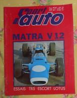SPORT AUTO. N°75. AVRIL 1968. MATRA V 12. ESSAIS : TR5. ESCORT LOTUS. - Sport