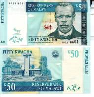 MALAWI 50 Kwacha **UNC** 2009 - Malawi