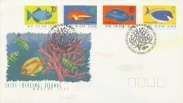 Cocos (Keeling) Islands 1996 Marine Life FDC - Marine Life