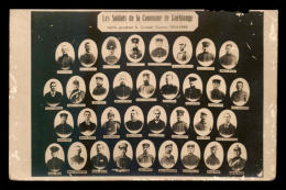 57 - GUEBLANGE - PORTRAITS DES SOLDATS DE LA COMMUNE - GUERRE 14/18 - VOIR L'ETAT - Other Municipalities