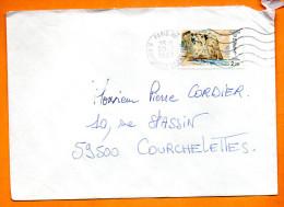 MAURY N° 2478   ETRETAT       Lettre Entière N°  S 74 - Marcophilie (Lettres)