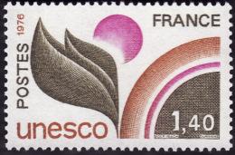 Service 52  -  Unesco  1f40  -  NEUF** -  Cote  2e - Neufs