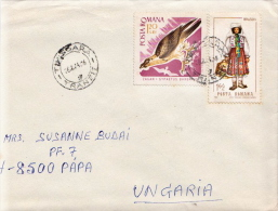 Postal History Cover: Romania - Eagles & Birds Of Prey