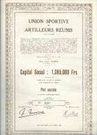 Tournai   union sportive et artilleurs r�unis  ann�� 1944