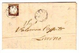 SARDEGNA  1861 Su Busta - Sardinia