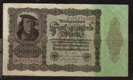 Germania 50.000 Mark 19-11-1922 - Germany
