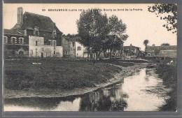 BOUGUENAIS . Le Bas Du Bourg Au Bord De La Prairie . - Bouguenais