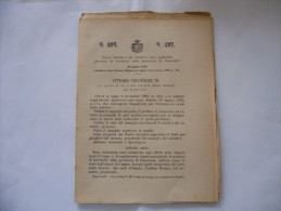 REGIO DECRETO 1904 CHE DICHIARA ZONE MALARICHE PORZIONI DI TERRITORIO DI BENEVENTO - Decrees & Laws