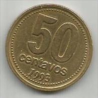 Argentina 50 Centavos 1993. - Argentina