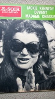 Le Soir Illustré 1896 Jackie Kennedy, Onassis, Cabarets, Trésors, Affaire Markovic, Olympiades Noires, 14-18, Seychelles - Algemene Informatie