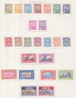 Indochine 1927 N°123 à 146 - Neufs