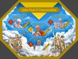 Solomon Islands. 2014  John Paul II. (405a) - Papas