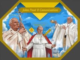 Solomon Islands. 2014  John Paul II. (405b) - Papas