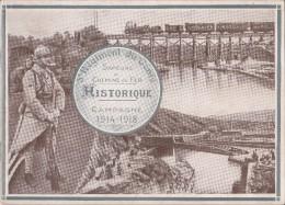 VP 15 : 0097 : 5° Régiment Du Génie Sapeurs De Chemin De Fer Campagne 14/18 Photos Ardennes Et  Est - Guerre 1914-18
