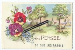 CPA - Une Pensée De Bus En Artois - France