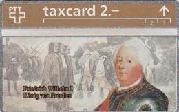 Switzerland, K-146.A, Die Goldenen K�nigskarten-Friedrich Wilhelm I von Preussen, Mint.   324L.