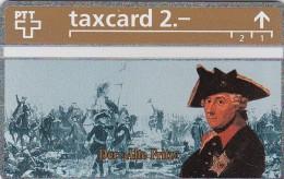 Switzerland, K-100.B, Die Goldenen K�nigskarten - Der Alte Fritz, Mint.   324L.