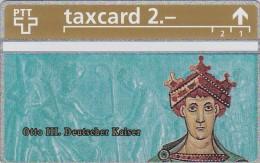 Switzerland, K-209.A, Die Goldenen K�nigskarten - Otto III Deutscher Kaiser, Mint.   325L.