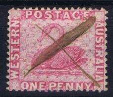 Western Australia WA,   Mi Nr 9 A Used - Gebruikt