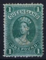 Queensland, Mi Nr  62 X  Used - 1860-1909 Queensland