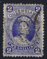 Queensland, Mi Nr  63  Used 1886 - 1860-1909 Queensland