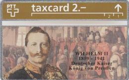 Switzerland, K-221.A, Die Goldenen K�nigskarten - Wilhelm II Deutscher Kaiser, Mint.   322L.